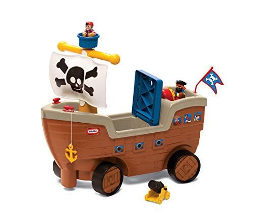 Little Tikes - 9062213 - Play 'n Scoot Pirate Ship - Jugar 'n Scoot Barco pirata