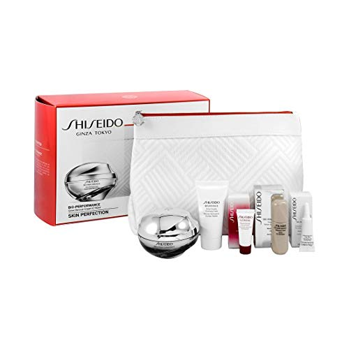SHISEIDO BIO PERFORMANCE GLOW REVIVAL CREAM 50 ML + 4 MUESTRAS + NECESER SET REGALO