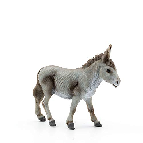 MAROLIN Esel stehend, zu 9cm Fig. (Kunststoff)