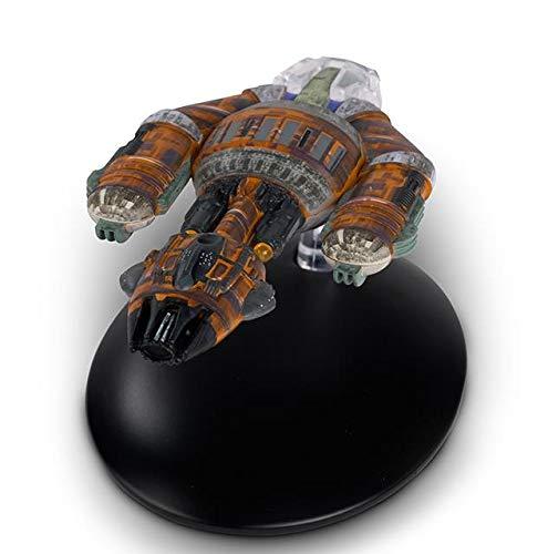 Star Trek – die Raumschiffsammlung - Eaglemoss Raumschiff Modell #149 mit englischem Magazin Krenim Warship
