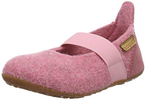 Bisgaard Mädchen Wool Ballet Slipper, Pink (91 Rosa), 25 EU