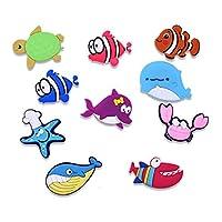 冷蔵庫用マグネット 10ピース/ロット3D漫画車冷蔵庫のための子供のための磁石家のための冷蔵庫のための磁石のための子供たちのおもちゃ男の子の贈り物 (Color : 78pcs magnets)