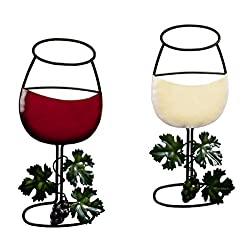 Miles Kimball 356770 Wine Wall Decor, One Size Fits All, Red