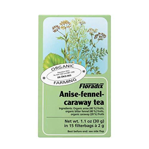 Floradix biologische anijs, venkel en karwij kruidenthee 15 zakken