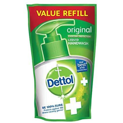 Dettol Skincare Handwash Refill Pouch with Dettol Original...