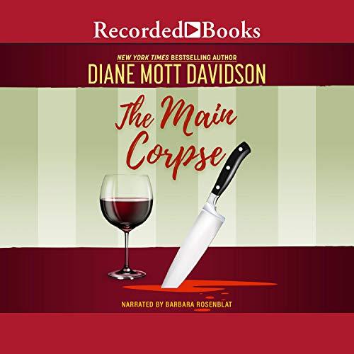 The Main Corpse Audiobook By Diane Mott Davidson cover art