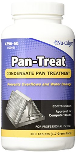 Nu-Calgon 4296-60 Pan-Treat Scum 200 Tablets