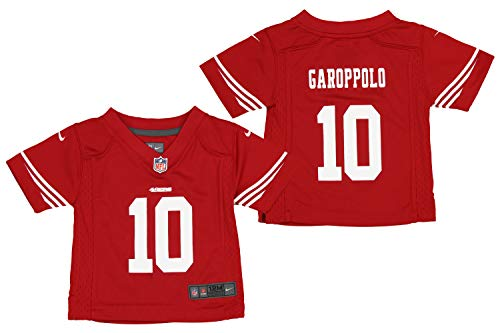 Nike NFL San Francisco 49ers Infants and Toddlers Jimmy Garoppolo Red Game Jersey (2T)