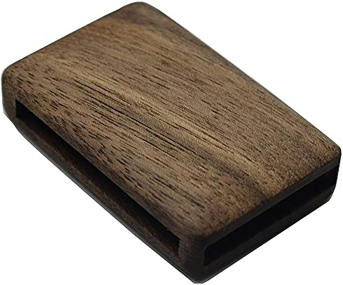 SENDIAYR Carcasa de Mando a Distancia de Madera de sándalo Rojo Hecha a Mano con Logotipo, para Volvo XC90 V90 S90 XC60 V60 S60 XC40 Polestar1-Desert_Ironwood