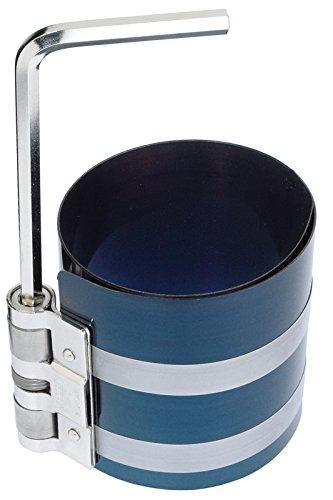 GEDORE Collier à segments, Réglable en continu de 57 à 125 mm, Avec clé de serrage, Longueur 80 mm, 125 1