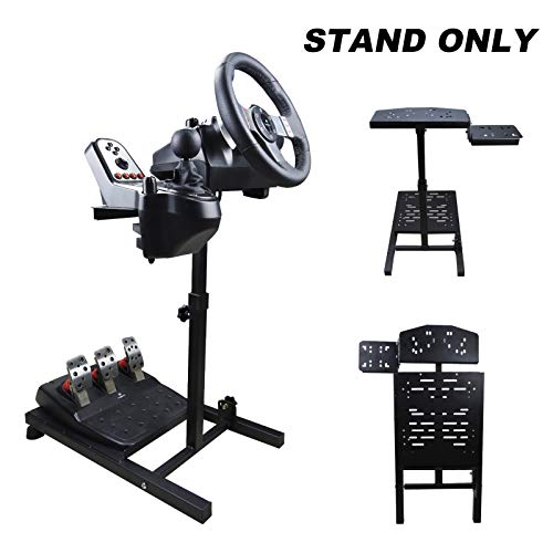 Racing Wheel Stand Collapsible&Tilt-Adjustable Steering Wheel Stand for Thrustmaster, Logitech G29, G920, G27 & G25 Wheels, Supporting TX, Xbox, PS4, PS5, Not Included Wheel and Pedals