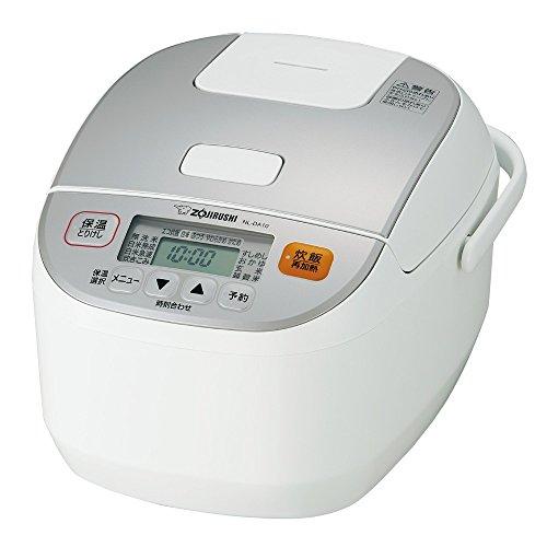象印 炊飯器 5.5合 マイコン式 極め炊き ホワイト NL-DA10-WA