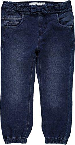 Name it Hose im jeans-look in marine blau, Gr. 116