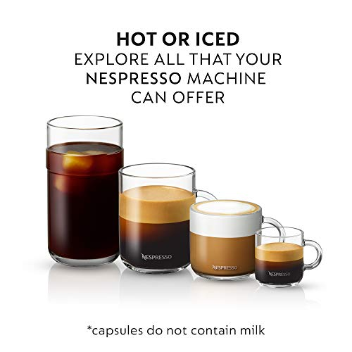 Nespresso Capsules VertuoLine, Medium and Dark Roast Coffee, Variety Pack, Stormio, Odacio, Melozio, 10 Count (Pack of 3)