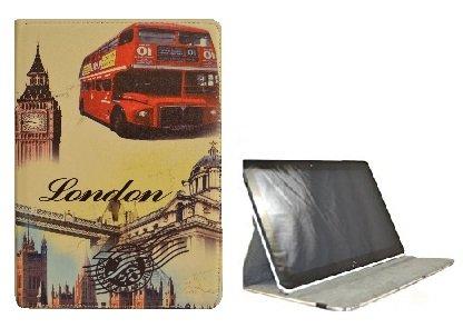 Theoutlettablet® Schutzhülle, um 360Grad drehbar, für Tablet BQ Aquaris M10 von 10,1Zoll/25,7cm, Schutz vorne & hinten