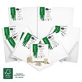Artina - Lot de 12 Châssis entoilés certifiés FSC- Toile à Peindre Akademie - 20x20 cm, 20x30 cm, 30x30 cm, 30x40 cm & 40x60 cm - 280g/m²