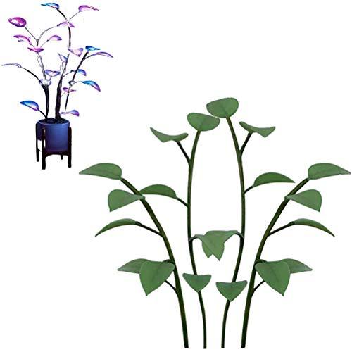 Planta Artificial, Luces de Hoja LED Plantas Bonsai Lámpara romántica Regalo para el Día de San Valentín Día de la Madre, No Contiene macetas