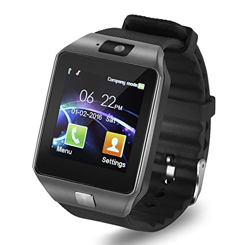 2366a5256d6 Teconica SR-09 Wireless Bluetooth Touch Screen Mobile Watch with Hand-Free  Calling