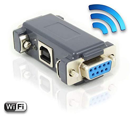 AirDrive Serieller Logger Pro - RS232 Datenrekorder mit WiFi-Technologie und 16MB Speicher