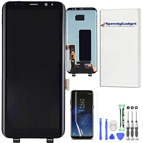 speedygadget for Samsung Galaxy S8+ Plus AMOLED LCD Digitizer Screen Touch Assembly Display Replacement Part 6.2 inch