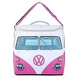 Volkswagen Große Kühltasche, VW Bulli Isolierte Picknicktasche, Lunchtasche, Mittagessen Tasche, VW-Geschenke, Rosa