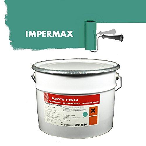 Impermax ST - flüssige Teichfolie - azurgrün (RAL5018) 10kg