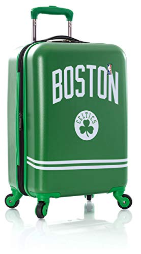 Heys America National Basketball Association Officially Licensed Wheeled Luggage (Boston Celtics, 21-Inch)