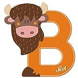 Sevi - Lettre B - Bison - Bois - 83002