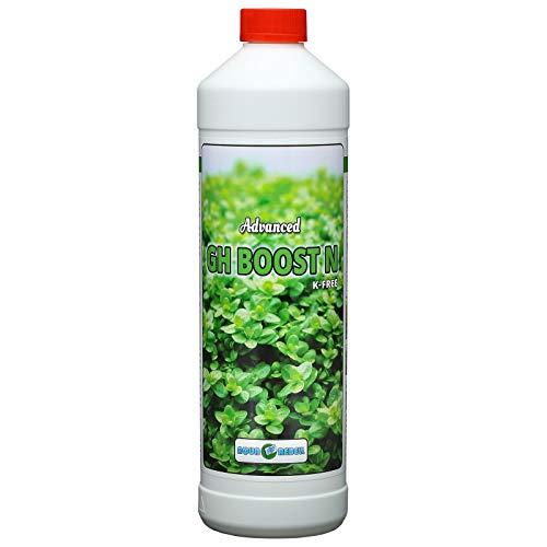 Aqua Rebell ®️ Advanced GH Boost N - 1 Literflasche - optimale Versorgung für Ihre Aquarium Wasserpflanzen - Aquarium Eisenvolldünger speziell für Wasserpflanzen entwickelt