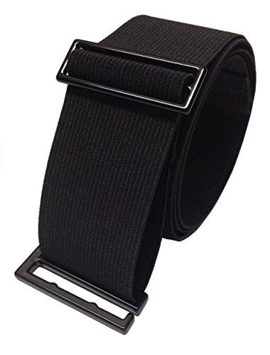 SkinniBelt Women's Elastic Belt M Black