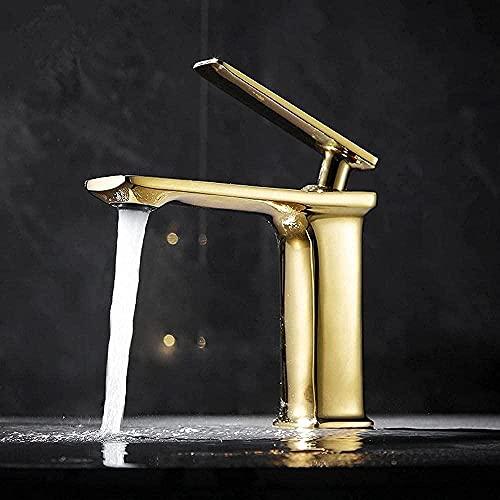 Grifo Fácil De Instalar Hotel Project Faucet Cuerpo De Cobre Montado En La Pared Agua Fría Y Caliente Caja Empotrada Grifo De Lavabo Oculto (Color: Negro)