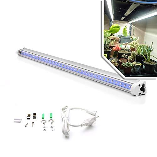 Barre horticole LED SpectraLINE 60cm - Puissance 14 Watts - Idéal pour bonsaïs, cactus, plantes carnivores, plantes en intérieur - Spectre lumineux blanc proche lumière naturelle