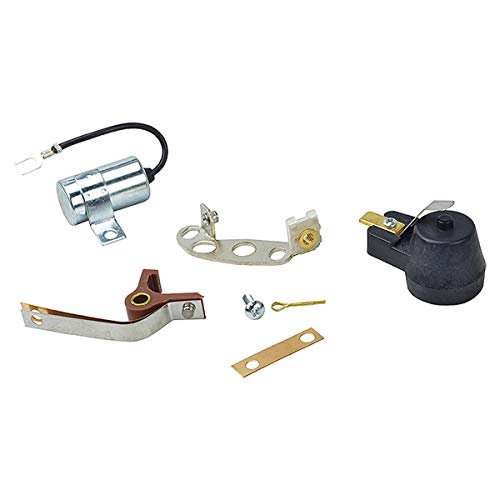 Complete Tractor New 1100-5100 Ignition Kit (Points Condensor Rotor) Compatible with / Replacement for Ford 2N, 8N, 9N Tractor-87727246, APN12000A, ATK6FFR, B2NN12200A