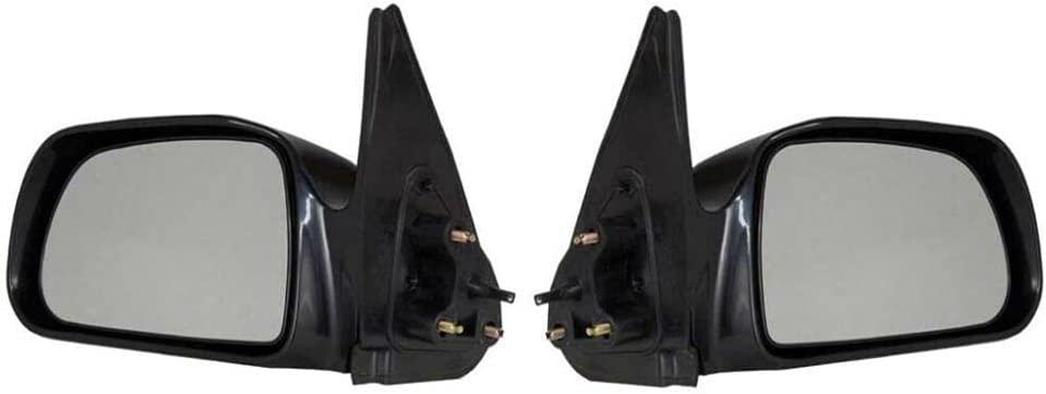 PAIR DOOR MIRRORS For 01-04 Challenge the lowest price Popularity NON-HEATED Tacoma DLX NON-POWER BASE