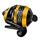 WataChamp Bees Spincast Fishing Reel, High Speed 4.3:1 Gear Ratio, 6S.S.D.Stainless Steel Ball Bearings, Reversible Handle for Left/Right Retrieve, with Monofilament Line