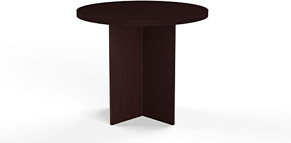 36 Inch Round Conference Table Mahogany