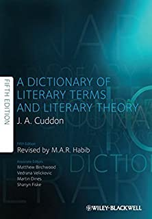 Dictionary of Literary Terms and Literary Theory by J. A. Cuddon (2013-01-29)