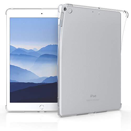 kwmobile Hülle kompatibel mit Apple iPad 10.2 (2020/8. Gen) - Tablet Cover - Tab Case Silikon Schutzhülle in Transparent
