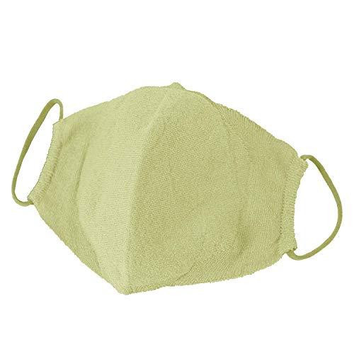 和紙ニットマスク 日本製【抗菌 キシリトール加工】洗える 夏マスク (グリーン)