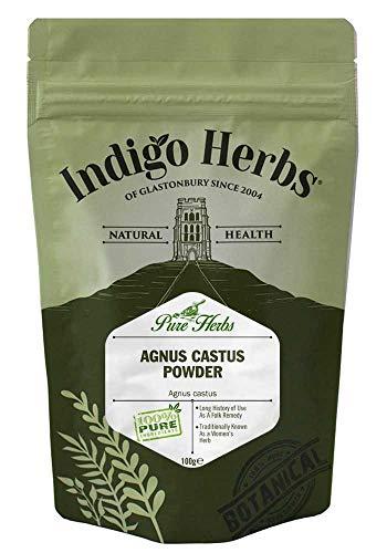 Indigo Herbs Agnus Castus Pulver 100g