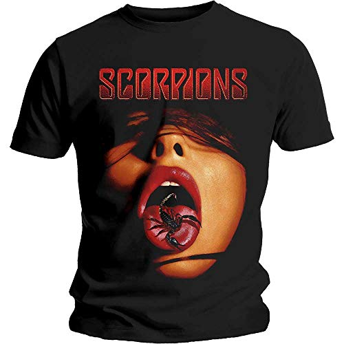 T-Shirt # Xl Black Unisex # Scorpion Tongue