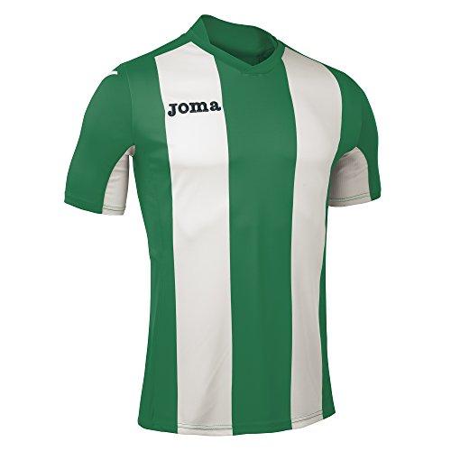 Joma Pisa V M/C, Maglietta Uomo, Verde/Bianco, XXS