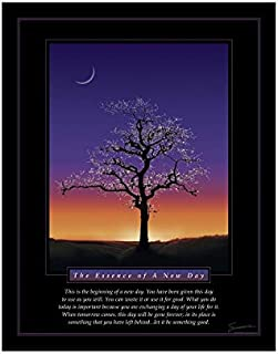 Successories Unframed Essence of A New Day Mini Motivational Poster