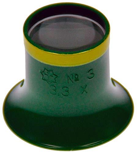 Sternkreuz Uhrmacherlupe 3,3-Fach Uhrmacher Okular Juwelier Lupe Augenlupe 312.SK30