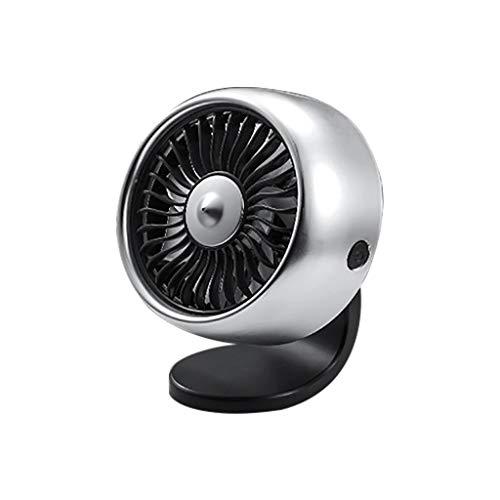 Ventilador eléctrico multifunción para coche, fortalecimiento de las salidas de aire del coche, energía eólica de la consola central, ampliación del silencioso minilventilador USB