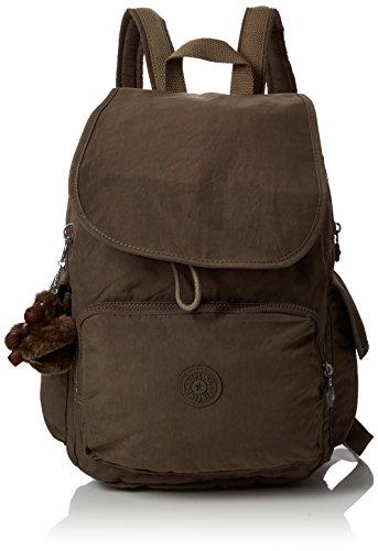 Kipling City Pack - Zaini Donna, Marrone (True Beige), 32x37x18.5 cm