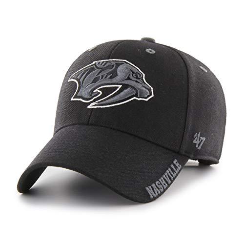 Casquette MVP de marque NHL Team Noir - Noir - Taille Unique