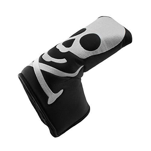 Hurricane Golf Skull/Black Blade Putter Headcover FITS Odyssey Scotty Cameron