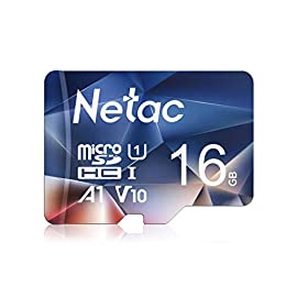 Netac 16GB Micro SD Card, microSDHC UHS-I Memory Card - 90MB/s, 600X, U1, C10, Full HD Video V10, A1, FAT32, High Speed… 4 Up to 100MB/s transfer read speed 667X support high read and fast file transfer speeds. Without equipment encumbrance, you are easy to fulfill data read and file transmission in a short time. (Based on the internal test environment of Netac, so the actual speed may vary with different host devices and environments. For devices that don't support UHS-I, the transmission speed will be different due to interface limitations.) UHS-I (U3), Speed Class 10, Video Speed Class 30 (V30) support smooth as well as continuous shooting and Full HD video (4K) recording. For apps, A1 (App 1) performance helps not only run faster by microSDXC card, but also save devices' storage space memory. (Based on Secure Digital 5.1, A1 performance is 10MB/s continuous read and write speed or 1500 read IOPS, 500 write IOPS. Netac TF card's actual performance will have some discrepancy due to difference of hardware/software platform. Netac 256GB microSDXC UHS-I Memory Card supports up to 6 hours 4K UHD videos recording, up to 17 hours full HDD videos recording, 25,000 photos, 11,p000 songs. (1GB=1,000,000,000 bytes. Due to different caacity algorithms and partial capacity are used for system files, management and performance optimization, so the actual available capacity may be less than the identifying capacity.)
