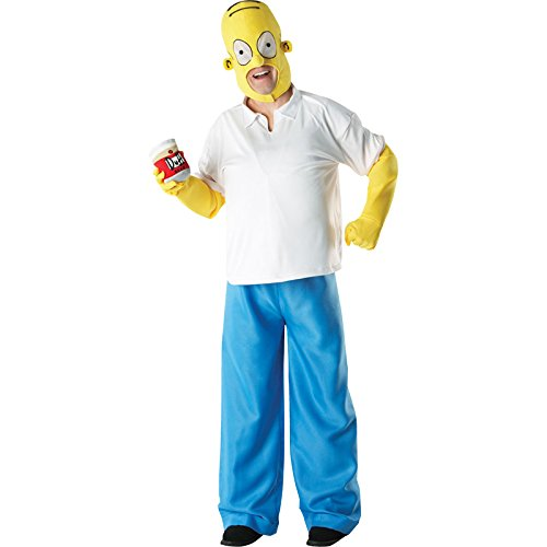 Rubbies Los Simpson I-880653XL - Disfraz de Homer (talla XL de adulto)